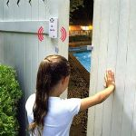 Blue Wave Yardguard Gate/Door Alarm - 120DB Alarm Sound, Easy to Operate, Pass/Reset Button - NA425