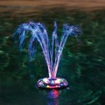 Blue Wave Dancing Waters Light & Fountain Show - 1 hr Automatic Shut Off, Wireless Remote Control, Transmits Up To 75ft Away - NA4450