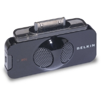 Belkin TuneTalk - Voice recording unit - black - for Apple iPod (F8Z082-BLK)