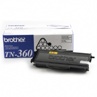 Brother TN-360 Black Laser Toner Cartridge - 2,600 Yield