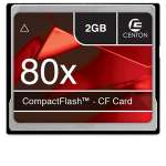 Centon Advanced 2GB CompactFlash Memory Card - 80X (S1-CF80X-2G)