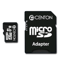 Centon 8GBRSDHC 8GB MicroSDHC Card