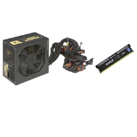 Corsair TX650W 650-Watt Power Supply and Corsair CMX4GX3M1A1333C9 XMS3 4GB DDR3 RAM  Bundle