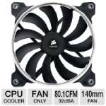 Corsair CO-9050009-WW AF140 Quiet Edition High Airflow Fan - 140mm, 24dBA, 1150RPM, 67.8 CFM, 12V