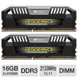 Corsair Vengeance DDR3 16GB 2133MHz 2x8GB Kit