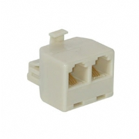 Cables To Go RJ-11 Male to Female/Female Jack Splitter