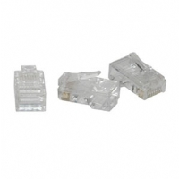 Cables To Go 8x8 RJ-45 Modular Plug for Stranded Cable - 10-Pack