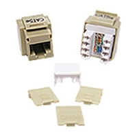 Cables To Go Cat5e Keystone Jack - Ivory