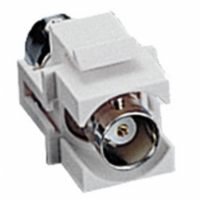 Cables To Go Snap-In BNC Keystone Module - Ivory