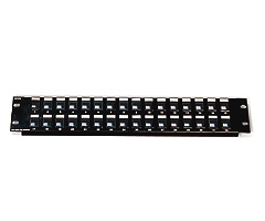 Cables To Go Blank 12-Port Keystone Jack Patch Panel