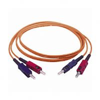 Cables To Go 09113 3-Foot Duplex Multimode Fiber Optic Patch Cable