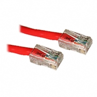 Cables To Go 10-Foot CaT5e Crossover Patch Cable, Red