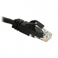 Cables To Go 3-Foot CaT6 Snagless Patch Cable, Black