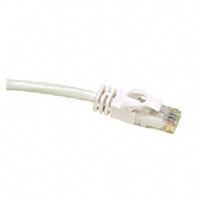 Cables To Go 50-Foot Cat6 550Mhz Snagless Patch Cable, White