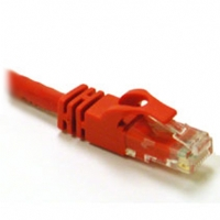C2G 3ft Cat6 Snagless Unshielded (UTP) Ethernet Network Patch Cable - Red - Patch cable - RJ-45 (M) to RJ-45 (M) - 3 ft - CAT 6 - molded, snagless - (27181)