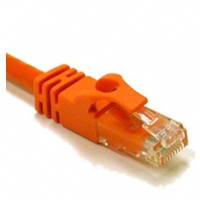 Cables To Go 50-Foot Cat6 550Mhz Snagless Patch Cable - Orange