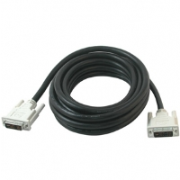 Cables To Go 15-Foot DVI-I Male to Male Single Link Digital to Analog Video Cable