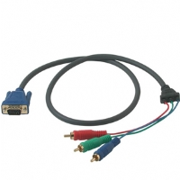Cables To Go 3-Foot Ultima HD15 To RCA HDTV Component Video Cable