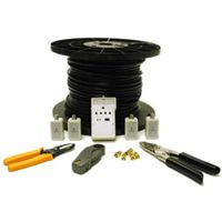 Cables To Go 250-Foot RG6 Double-Shield Coax Installation Kit