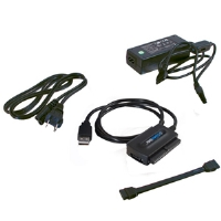 Cables to Go USB 2.0 to IDE or Serial-ATA Drive Adapter, Black