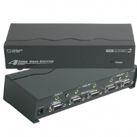 Cables To Go 4-Port UXGA Monitor Splitter/Extender With Audio