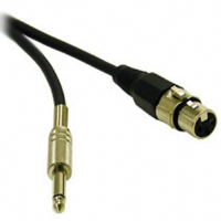 Cables To Go 3-Foot XLR Female to 1/4in Male Pro-Audio Cable