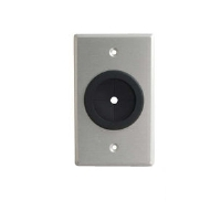 Cables To Go 40489 Single Gang Grommet Wall Plate - 1.5""