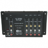 Cables To Go 4-Outlet Audio/Video + S-Video Distribution Amplifier
