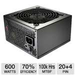 Cooler Master eXtreme Power Plus 600-Watt ATX Power Supply