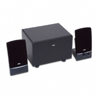 The most affordable 3-piece subwoofer system on the market. &#xA;      This system sounds superior to any 2-piece system in the market. A great-looking &#xA;