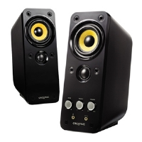 Creative Labs GigaWorks T20 Series II - Speakers - for PC - 28 Watt (total) - 2-way - gloss (51MF1610AA002)