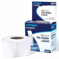 Dymo White File Folder Label 260 Labels