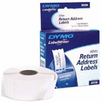 "Dymo White Return Address 3/4""x 2"" 500 labels"