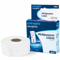 Dymo White Multi Purpose 1&quot; x 1&quot; 750 Labels