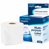 "Dymo White Multi Purpose 2-1/4"" x 1-1/4"" 1000 Labels"