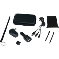 CTA Digital DS-9KB DSi/DS 9-in-1 Travel Kit - Black