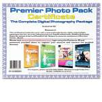 Premier Photo Pack Software DVD - PagePlus Essentials, WebPlus Essentials, Digital Scrapbook Artist, PhotoPlus X2 Digital Studio