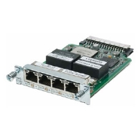 Cisco HWIC-4T1/E1 WAN Interface Card - High Speed 4 Port Clear Channel T1/E1