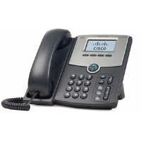 Cisco Small Business SPA 502G - VoIP phone - SIP, SIP v2, SPCP - single-line - silver, dark gray - for Small Business Pro Unified Communications 320 with 4 (SPA502G)