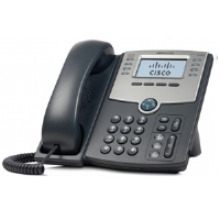 Cisco Small Business SPA 508G - VoIP phone - SIP, SIP v2, SPCP - multiline - silver, dark gray - for Small Business Pro Unified Communications 320 with 4 (SPA508G)