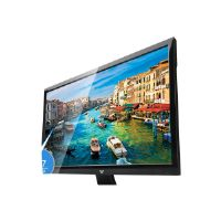 "V7 Slim Line L21500WDS-9N - LED monitor - 22"" ( 21.5"" viewable ) - 1920 x 1080 Full HD - 200 cd/m2 - 5 ms - DVI, VGA - speakers"