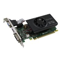 EVGA GeForce GT 730 LP - Graphics card - GF GT 730 - 2 GB GDDR5 - PCIe 2.0 x16 low profile - DVI, D-Sub, HDMI