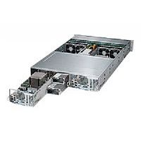 "Supermicro SuperServer 2028TP-DC1R - 2 nodes - cluster - rack-mountable - 2U - 2-way - RAM 0 MB 2.5"" - no HDD - AST2400 - GigE - Monitor : none"