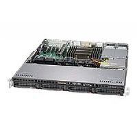 "Supermicro SuperServer 5018R-MR - Server - rack-mountable - 1U - 1-way - RAM 0 MB - SATA - hot-swap 3.5"" - no HDD - AST2400 - GigE - monitor: none"