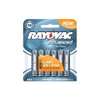 Rayovac Advanced High Energy Carded - Battery 6 x AAA type alkaline