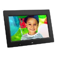 "Aluratek ADMSF310F - Digital photo frame - flash 4 GB - 10"" - 1024 x 600 - matte black"