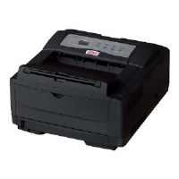 OKI B4600nPS - Printer - monochrome - LED - A4/Legal - 600 x 2400 dpi - up to 27 ppm - capacity: 250 sheets - parallel, USB 2.0, LAN