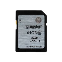 Kingston - Flash memory card - 64 GB - UHS Class 1 / Class10 - SDXC UHS-I (SD10VG2/64GB)