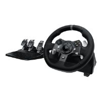 Logitech G920 Driving Force - Wheel and pedals set - wired - for PC, Microsoft Xbox One (941-000121)