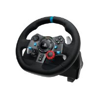 Logitech G29 Driving Force - Wheel and pedals set - wired - for PC, Sony PlayStation 3, Sony PlayStation 4 (941-000110)